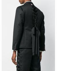 メンズ Thom Browne Cavalry スポーツコート Black