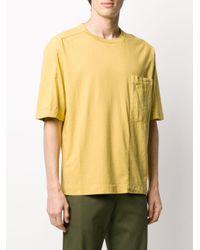 メンズ Transit ショートスリーブ Tシャツ Yellow
