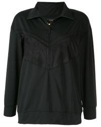Alala メッシュパネル スウェットシャツ Black