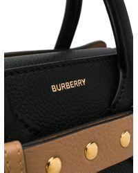 Маленькая Сумка Belt Burberry, цвет: Black