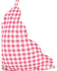 Marysia Swim Pink Karierter Bikini