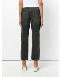 One Teaspoon Black Cropped Jeans