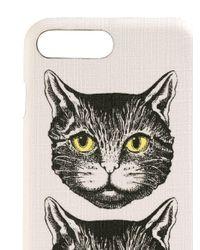 Gucci Mystic Cat Iphone 8 Plus ケース White