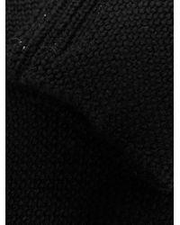 Mitaines en maille Rick Owens pour homme en coloris Black