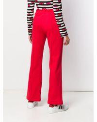 Pantalones de chándal con cordones Moncler de color Red
