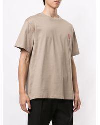 メンズ Wooyoungmi ロゴ Tシャツ Brown