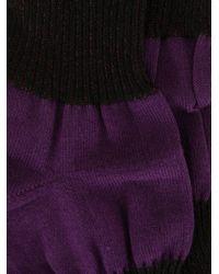 メンズ Homme Plissé Issey Miyake Puff 靴下 Purple