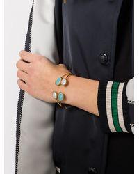 Gas Bijoux - Blue Quartuor Serti Bracelet - Lyst