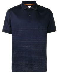 Paul Smith Kurzärmeliges Poloshirt in Blue für Herren