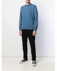 メンズ Calvin Klein ロゴ セーター Blue