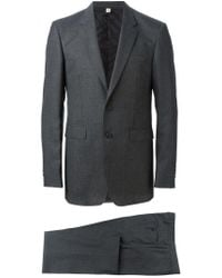 Burberry - Gray Modern Fit Wool Suit for Men - Lyst