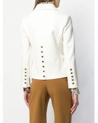 Veste ajustée boutonnée Chloé en coloris White