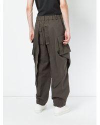 Moohong | Green Loose Fit Pants for Men | Lyst