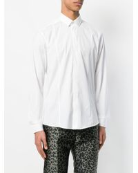 Les Hommes White Plain T-shirt for men