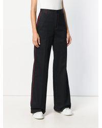 Wide Leg Jeans Stella McCartney, цвет: Multicolor