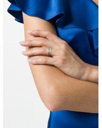 Кольцо В Несколько Оборотов 'emilie' Maria Black, цвет: Metallic