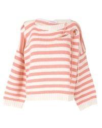 CHARLES JEFFREY LOVERBOY カットアウト セーター Pink