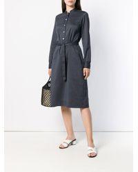 A.P.C. Blue Anne Dress