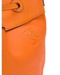 Loewe Orange Midnight Bag