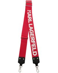Ланъярд С Логотипом Karl Lagerfeld, цвет: Red