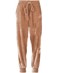 Olympiah Brown Pisco Sour Track Pants