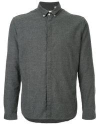 Oliver Spencer - Gray Aston Shirt for Men - Lyst