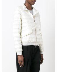 Moncler White 'violette' Jacket