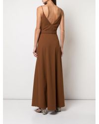 Nicholas Brown Camisole-Kleid mit Gürtel