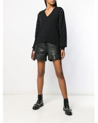 McQ Alexander McQueen Batwing アイレット セーター Black