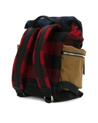 DSquared² Multicolor Military Buckle Backpack for men