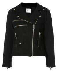 Anine Bing - Black Moto Jacket - Lyst