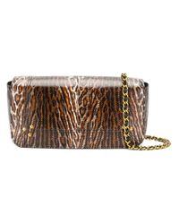 Jérôme Dreyfuss Brown Leopard Shoulder Bag
