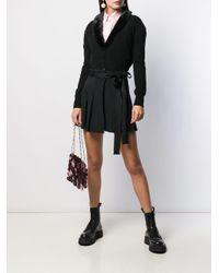 Short ceinturé à pinces RED Valentino en coloris Black