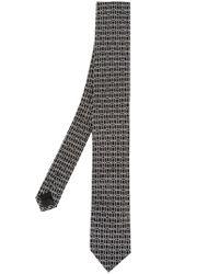 Dolce & Gabbana Black Jacquard Tie for men