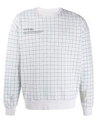 メンズ A_COLD_WALL* プリント スウェットシャツ Gray