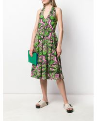 McQ Alexander McQueen ホルターネック ドレス Green