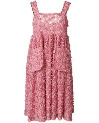 Shrimps - Pink Iris Dress - Lyst