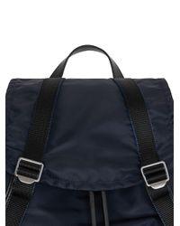 Большой Рюкзак Burberry для него, цвет: Multicolor