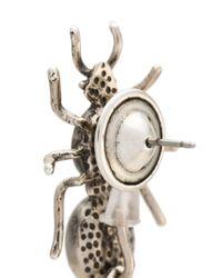 Camila Klein - Metallic Longo Formigas Earrings - Lyst