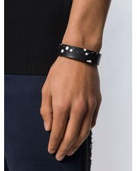 DIESEL Armband mit Farbklecks-Details in Black für Herren