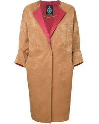 Guild Prime Brown Panelled Coat