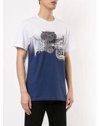 メンズ Versace Jeans Iconic Order Tシャツ Blue