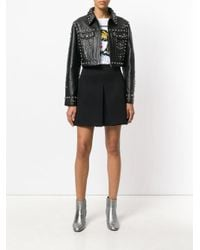 Jeremy Scott - Black Studded Jacket - Lyst