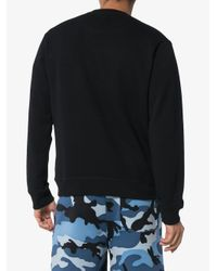 メンズ KENZO Tiger スウェットシャツ Black