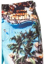 Costume da bagno con stampa di Orlebar Brown in Blue da Uomo