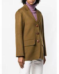Rejina Pyo Brown Mid-length Blazer