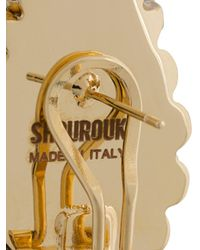 Shourouk - Metallic Disco Earrings - Lyst
