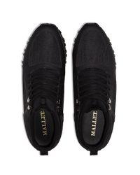 MALLET FOOTWEAR Black Diver Low-top Sneakers for men
