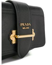 Prada Black Cahier Belt Bag