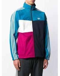 メンズ Adidas カラーブロック ジャケット Multicolor